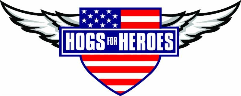 Hogs For Heroes Logo