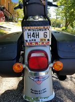 H4H pmotorcycle plate image